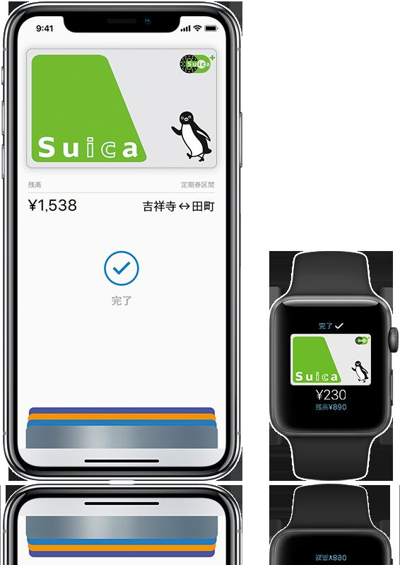 Apple PayのSuica イメージ
