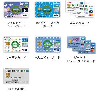 jre point 加盟店および jre card優待店 でのポイントの貯まり方