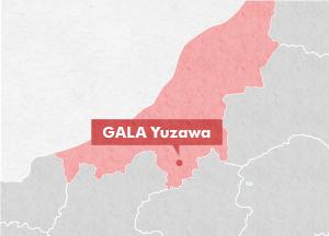 GALA Yuzawa Featured Destinations JREAST - Joetsu map