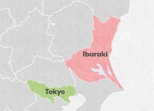 Ibaraki Japan Map.Ibaraki Featured Destinations Jr East
