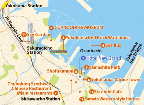 Recommended Yokohama Sightseeing Itinerary Yokohama Featured - Tokyo map for tourists