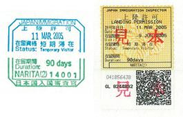 temporary visitor's visa
