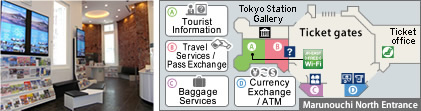 JR EAST Travel Service Center – Tokyo Station