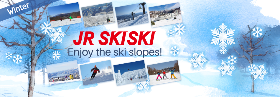 Winter - Enjoy the ski slopes!