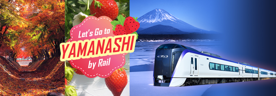 Let's Go To YAMANASHI by Rail