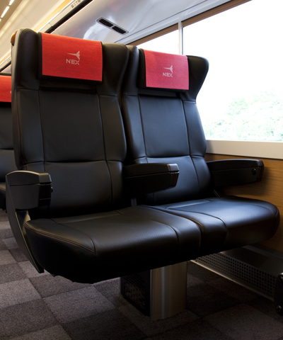 Seating Narita Express Jr East