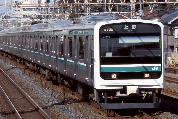 JR東日本E501系電車