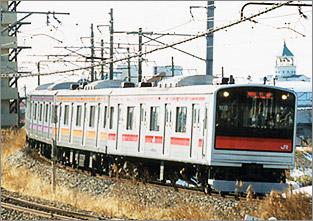 列車案内>在来線 205系:JR東日...
